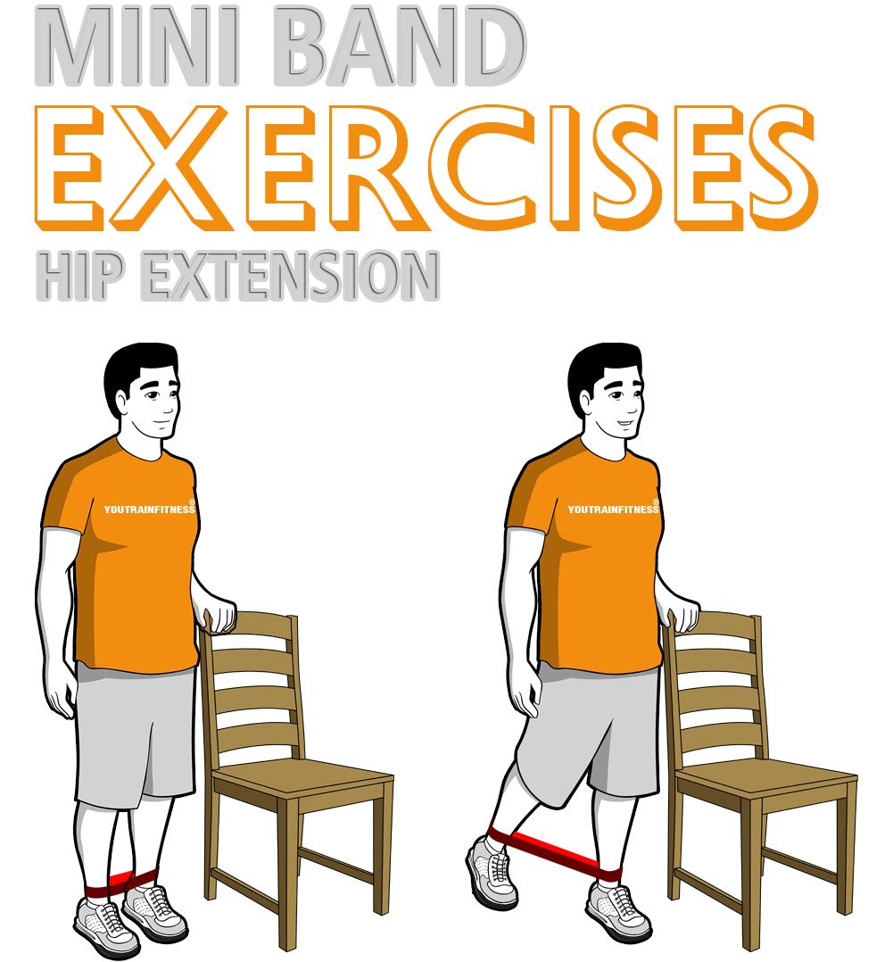Mini Band Hip Extension