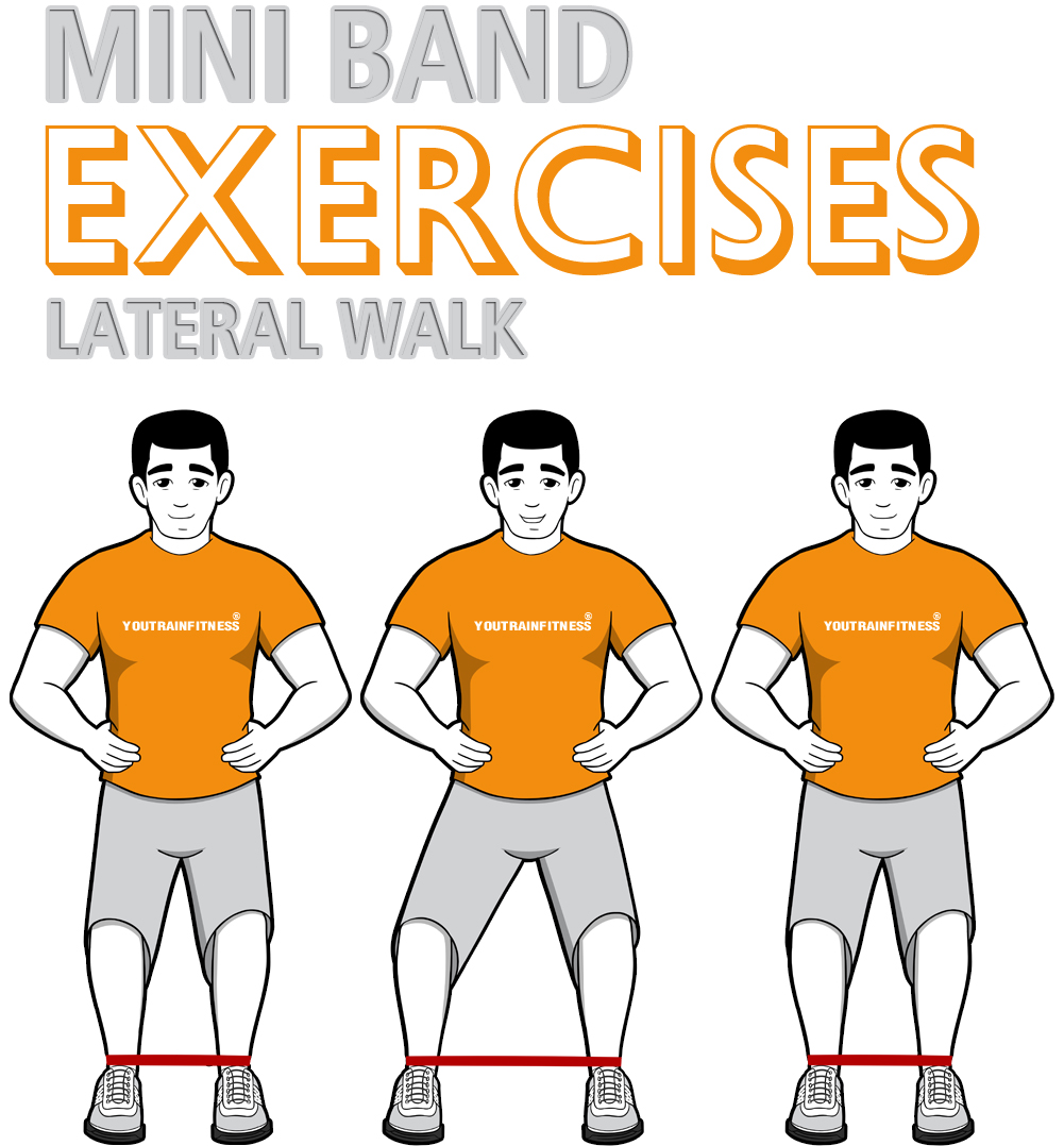 Mini Band Lateral Walk