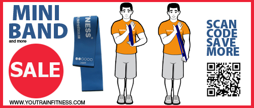 Mini Band Arm Workout Triceps Extension