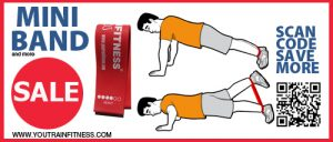Mini Band Push-up Exercise