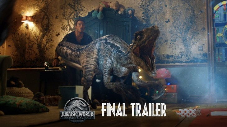 Jurassic World: Fallen Kingdom – Final Trailer [HD]