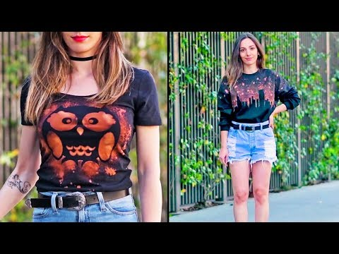 Super Cool Clothing Revamps and More Life Hacks & Ideas by Blossom