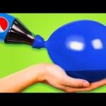 17 AMAZING LIFE HACKS WITH BALLOONS