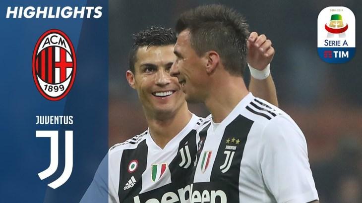 Milan 0-2 Juventus | Ronaldo And Mandžukić Stun San Siro | Serie A