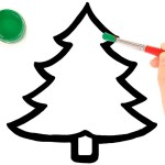 Glitter Christmas Tree Ornaments coloring and drawing for Kids, Toddlers | Jolly Toy Art ☆