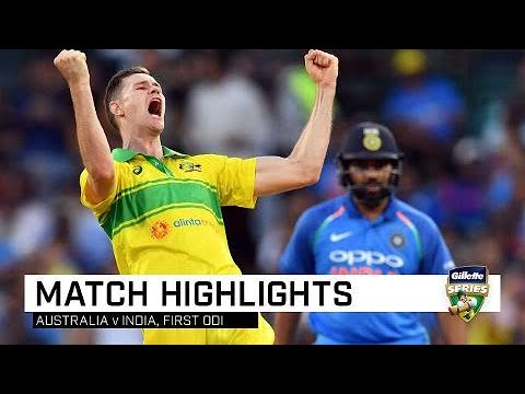 Aussies bounce back to outclass India | First Gillette ODI