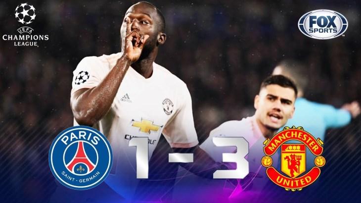 PSG – Manchester United [1-3] | GOLES | Octavos de final (VUELTA) | UEFA Champions League