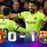 Manchester United – FC Barcelona [0-1] | GOLES | Cuartos de final (IDA) | UEFA Champions League