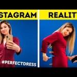 24  SIMPLE INSTAGRAM HACKS II Instagram vs Real Life