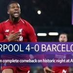 Liverpool vs Barcelona (4-0) | UEFA Champions League Highlights