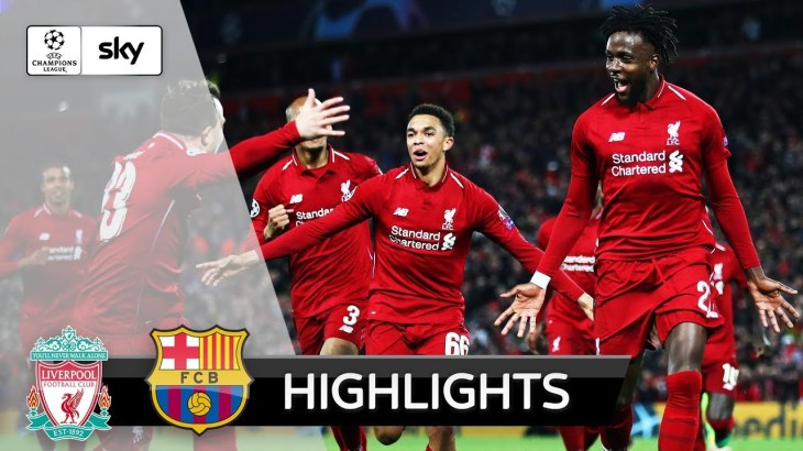 Ecken-Trick lässt Anfield beben | Liverpool – Barcelona 4:0 | Highlights – Champions League 2018/19