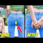 Girl DIY! 8 SUPER COOL CLOTHES HACKS FOR GIRLS | DIY Life Hacks For Embarrassing Moments by T-STUDIO