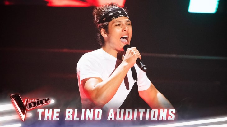 The Blind Auditions: Denzel sings 'Akuma' | The Voice Australia 2019
