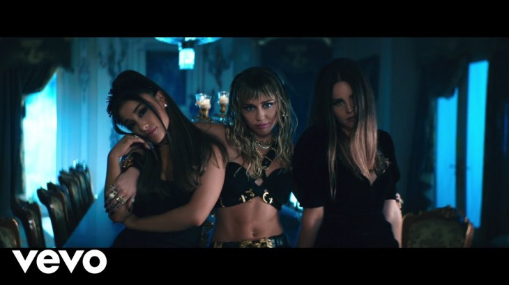 Ariana Grande, Miley Cyrus, Lana Del Rey – Don't Call Me Angel (Charlie's Angels)