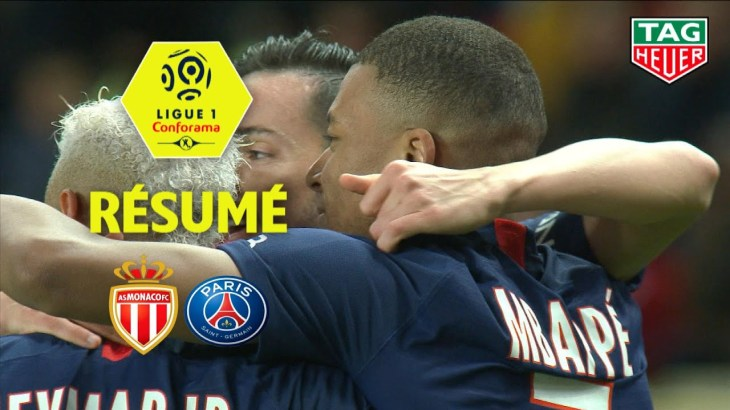 AS Monaco – Paris Saint-Germain ( 1-4 ) – Résumé – (ASM – PARIS) / 2019-20