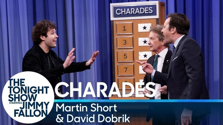 Charades with Martin Short and David Dobrik