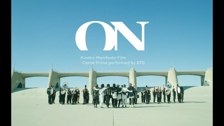 BTS (방탄소년단) 'ON' Kinetic Manifesto Film : Come Prima