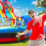 LAST To Leave The BOUNCY HOUSE Challenge!