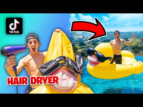 Testing VIRAL TikTok SUMMER Life Hacks… **THEY ALL WORKED**