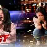 "Golden Buzzer: 10-Year-Old Roberta Battaglia Sings Lady Gaga's ""Shallow"" – America's Got Talent 2020"