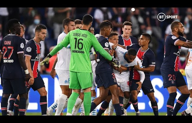 Carnage in Le Classique! Neymar amongst FIVE players sent off!
