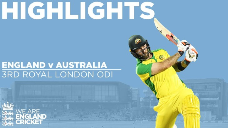England v Australia – Highlights | Maxwell Hits Stunning Century | 3rd Royal London ODI 2020