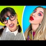NERD vs HOTTIE! How to Be Popular – Funny School Life and Hacks by La La Life Musical