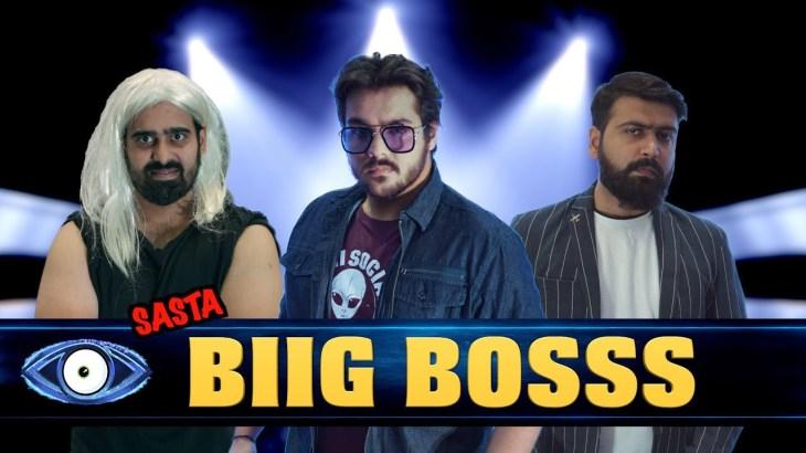 Sasta Biig Bosss   Parody   Ashish Chanchlani