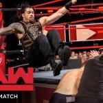 FULL MATCH – Reigns, Strowman & Lashley vs. Owens, Zayn & Mahal: Raw, Apr. 30, 2018