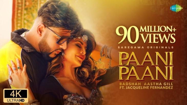 Badshah – Paani Paani | Jacqueline Fernandez | Aastha Gill | Official Music Video