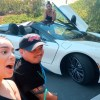 DOING MY MAKEUP IN MY CONVERTIBLE I8