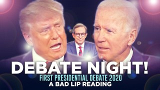 """DEBATE NIGHT 2020!"" — A Bad Lip Reading of the First Presidential Debate of 2020"