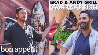 "Brad and Andy Grill ""Garbage Fish"" 
