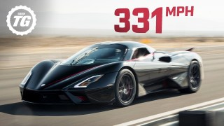 WORLD'S FASTEST ONBOARD: SSC Tuatara hits crazy 331mph top speed! | Top Gear