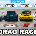 BMW M5 1000hp v £1.15M Rallycross Racers: RACE…and EXPLOSION!