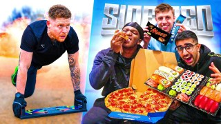 SIDEMEN 100,000 CALORIE BATTLE – THE REMATCH!