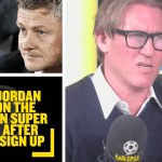 MUST LISTEN! Simon Jordan rant on the European Super League after 'big six' sign up