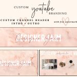 Marble Youtube Banner Templates Free Download