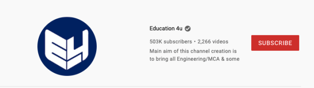 Which Channel Grows Faster Educational or Gaming channel on Youtube?