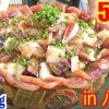 【MUKBANG】 Ultra Huge Fresh Seafood Rice Bowl!! [Hachijoshima Aigae Fisheries] 4Kg 6000kcal [Use CC]