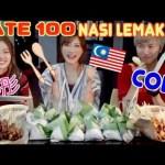 [木下ゆうか]【Cody & Lizz Chloe】 100 Malaysian Satay Skewers & 30 Tasty Nasi Lemak Challenge !! [CC Available]