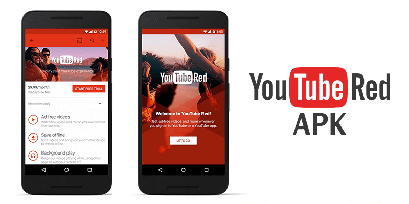 youtube red apk free