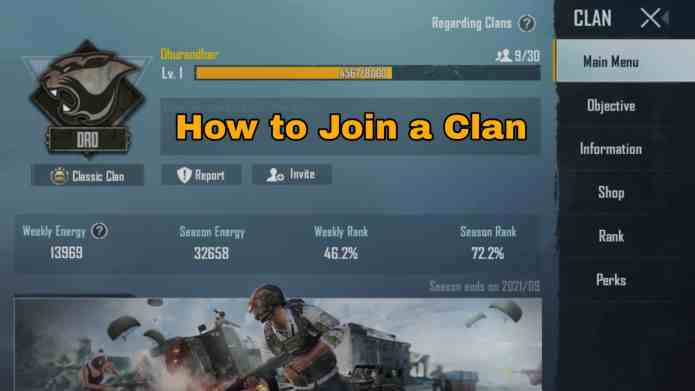 How To Join A Clan In BGMI | Step By Step Tutorial To Join A Clan In Battlegrounds Mobile India