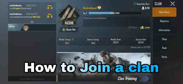 How to join a Clan in PUBG | Step by Step Tutorial to join a clan in PUBG Mobile