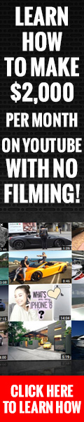 Learn How To Make $2000 Per Month On Youtube With No Filming 2020! 6