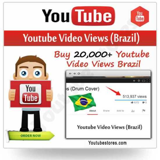 Brazil Youtube Video Views