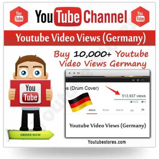 Youtube Video Views Germany