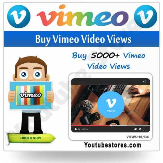 Buy Vimeo Video Views