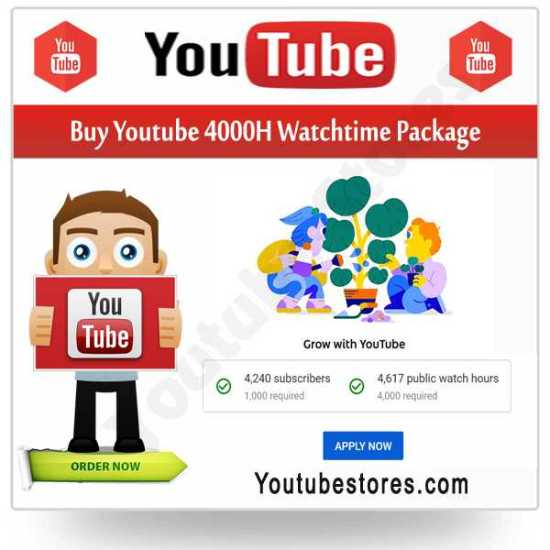 Buy Youtube Watchtime Package