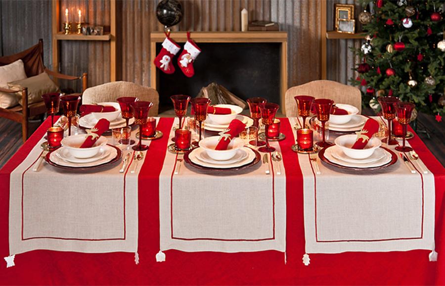 Ideas para decorar nuestra mesa de Navidad